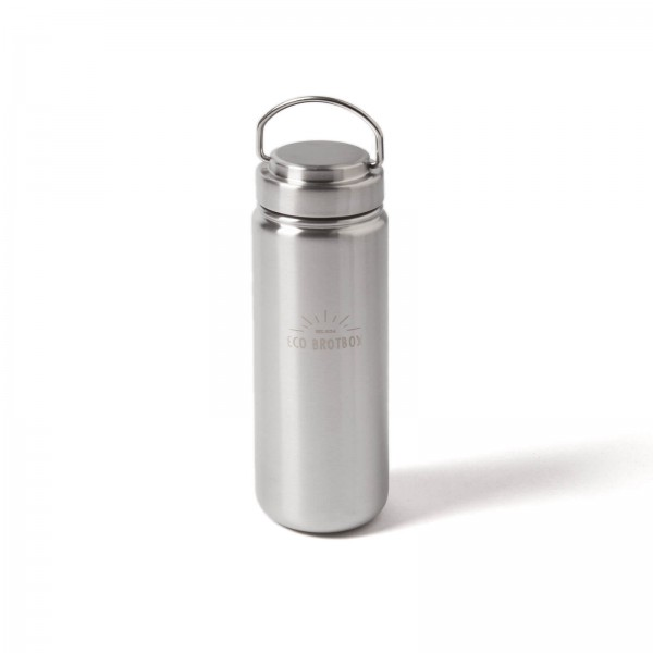 Reusable stainless steel drinking bottle 800 ml – BPA free | ECO Brotbox