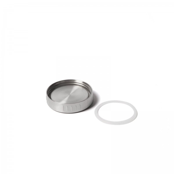Silicone ring for insulating containers