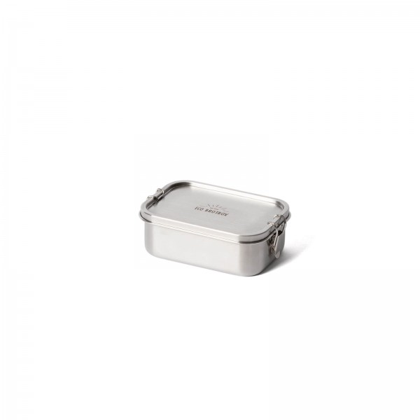 Leak-proof, rectangular lunchbox made of stainless steel | ECO Brotbox